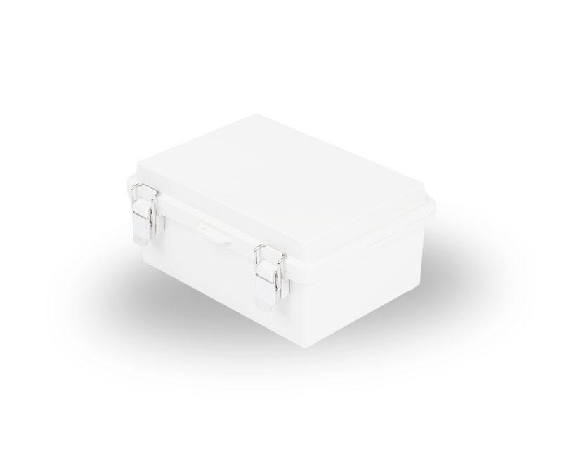 塑料盒(塑料搭扣+铰链型)