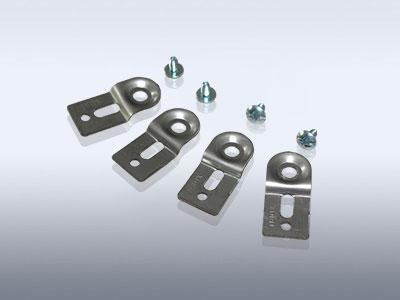 塑料盒不锈钢挂墙钩(4PCS)