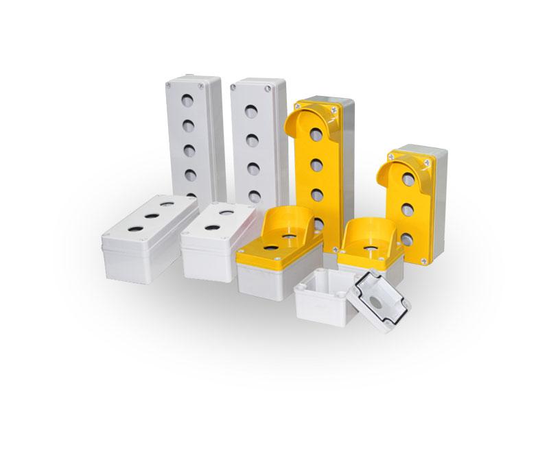 TJ系列 塑料盒(开关按钮型)