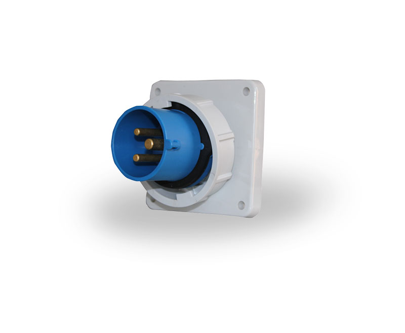 装置插头 16A  IP67